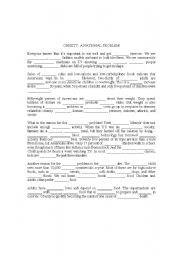 English Worksheet: dictation for book reading on book