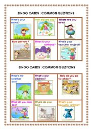 English Worksheets: Common questions