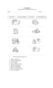 English Worksheets: Worksheet activities
