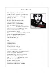 English Worksheet: SONG:
