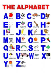 English Worksheet: ABC