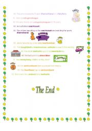 English Worksheet: Easily Confused Words (part 2)