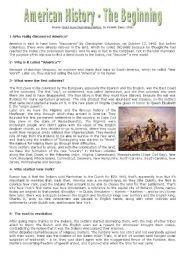 American History - The Beginning