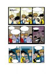 English Worksheets: Blank Penny Arcade Comics