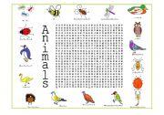 English Worksheets: Animals (2 of 4)