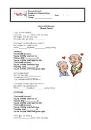 English Worksheet: You�re Still the One - Shania Twain