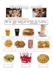 Eating out  1 - Vocabulary