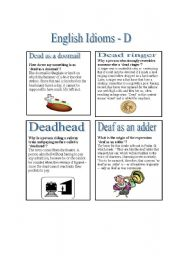 english idioms for essay writing