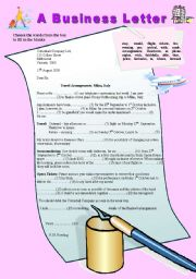 english teaching worksheets parts of a letter