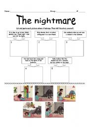 English Worksheets: The nightmare