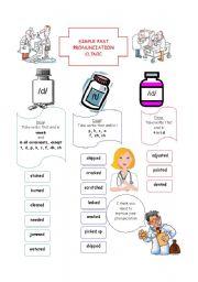 English Worksheet: Pronunciation Clinic -ed ending