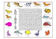 English Worksheets: Animals (4 of 4)