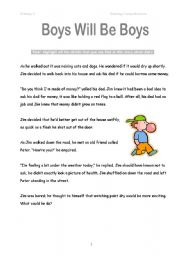 Pictures Inferential Comprehension Worksheets - Studioxcess