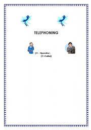 English Worksheets: Telephoning