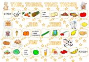 English Worksheets: THIS, THESE, THAT, THOSE - GAME (2)
