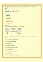 English Worksheets: PARTS OF SPEECH