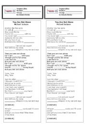 English Worksheets: Michael Jackson -