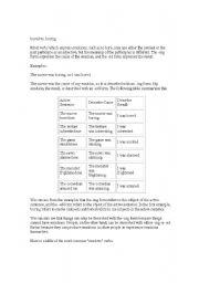 English Worksheets: grammar1