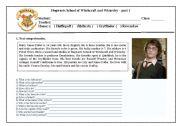 Harry Potter - part 1