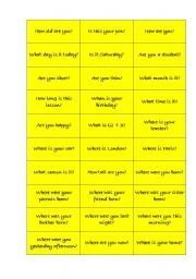 English worksheet: to be-questions