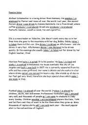 English worksheet: Passive Voice worksheet