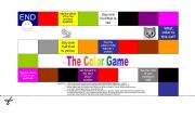 English Worksheets: The Color Game