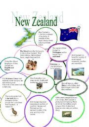 English Worksheet: New Zealand