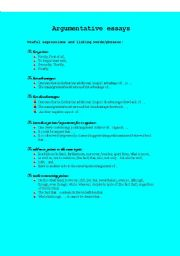discursive essay format