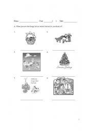 English Worksheets: Festival worksheet
