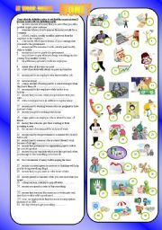 English Worksheet: MONEY - at work: nouns