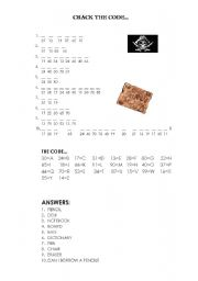 Cracking the Code Worksheet http://www.eslprintables.com/printable.asp?id=272625