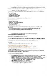English worksheet: SYNONYMS