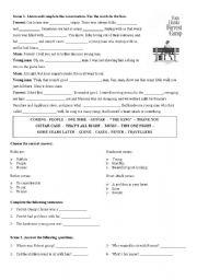 English Worksheet: Forrest Gump