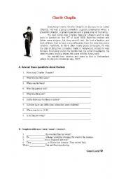 English Worksheet: Worksheet in order to assess pupils� knowledge.