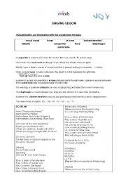 Sound Of Music Worksheet Worksheets For School - Studioxcess