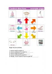 Vocabulary worksheets > The city > Asking for/giving directions