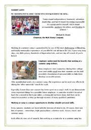 english teaching worksheets summer. Black Bedroom Furniture Sets. Home Design Ideas