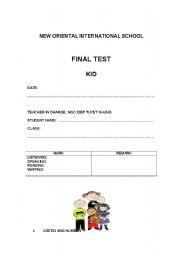 English Worksheets: Good Worksheet