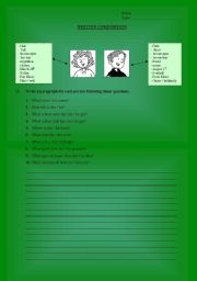 English Worksheets: Written composition