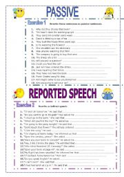 Passive and Reported Speech