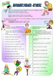 English Worksheet: Idiomatic Phrase -