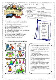 English Worksheets: Frequency adverbs