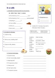 English Worksheet: NEW HEADWAY ELEMENTARY revision exercises