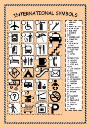 Pictures Symbols Worksheet - Studioxcess