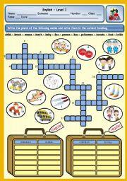 English Worksheet: REGULAR AND IRREGULAR PLURALS