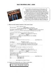 English Worksheets: Song - Oasis