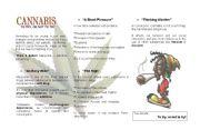 English Worksheets: Cannabis