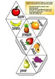 Fruit dice