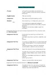 English Worksheets: Plan your own trip