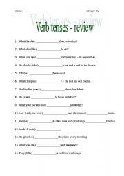 Passive voice exercises 1 eso